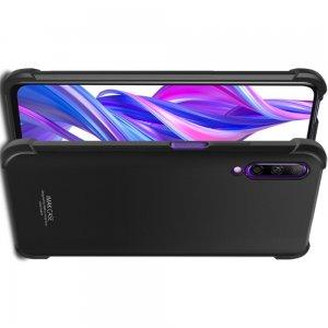 IMAK Shockproof силиконовый защитный чехол для Huawei Honor 9X Pro черный и защитная пленка