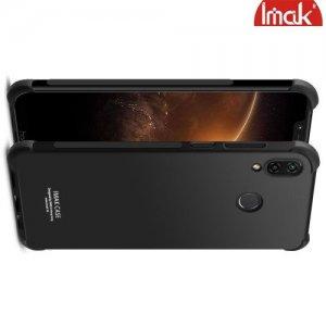 IMAK Shockproof силиконовый защитный чехол для Huawei Honor Play черный и защитная пленка