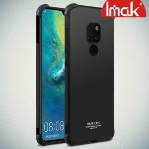IMAK Shockproof силиконовый защитный чехол для Huawei Mate 20 черный и защитная пленка