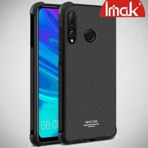 IMAK Shockproof силиконовый защитный чехол для Huawei P Smart 2019 песочно-черный и защитная пленка