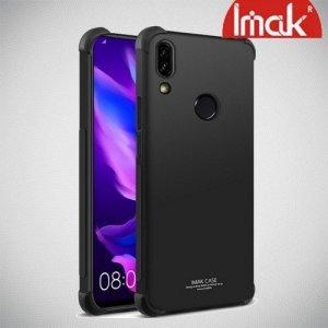 IMAK Shockproof силиконовый защитный чехол для Huawei P Smart Z черный и защитная пленка