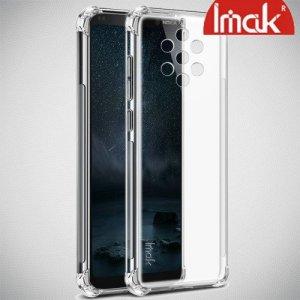 IMAK Shockproof силиконовый защитный чехол для Nokia 9 PureView прозрачный и защитная пленка