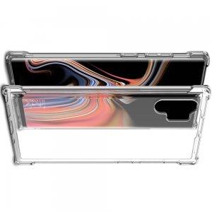 IMAK Shockproof силиконовый защитный чехол для Samsung Galaxy Note 10 Plus / 10+ прозрачный