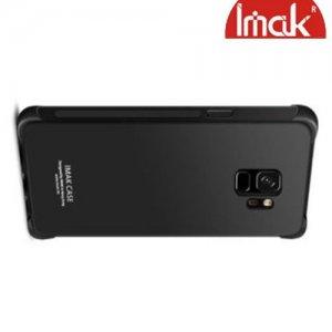 IMAK Shockproof силиконовый защитный чехол для Samsung Galaxy S9 - черный