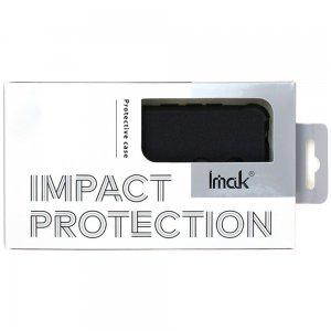 IMAK Shockproof силиконовый защитный чехол для Sony Xperia 1 II песочно-черный и защитная пленка