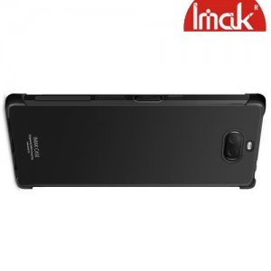 IMAK Shockproof силиконовый защитный чехол для Sony Xperia 10 Plus черный и защитная пленка
