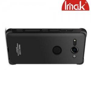 IMAK Shockproof силиконовый защитный чехол для Sony Xperia XZ2 Compact черный и защитная пленка