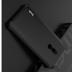 IMAK Shockproof силиконовый защитный чехол для Xiaomi Redmi 8 черный и защитная пленка