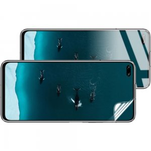 IMAK силиконовая гидрогель пленка для Huawei Honor 30S / Honor 30 на весь экран
