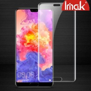 IMAK силиконовая гидрогель пленка для Huawei P20 на весь экран