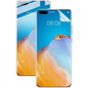 IMAK силиконовая гидрогель пленка для Huawei P40 Pro на весь экран