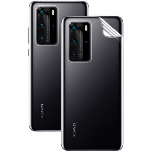 IMAK силиконовая гидрогель пленка для Huawei P40 Pro на заднюю панель