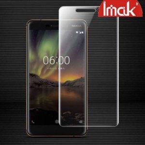 IMAK силиконовая гидрогель пленка для Nokia 6.1 2018 на весь экран