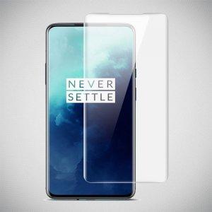 IMAK силиконовая гидрогель пленка для OnePlus 7T на весь экран