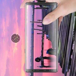 Силиконовая гидрогель пленка для Samsung Galaxy Note 9 на весь экран