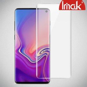 IMAK силиконовая пленка для Samsung Galaxy S10e на весь экран - 2шт. (поддержка ультразвукового сканера отпечатка пальца)