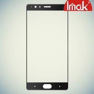 IMAK Закаленное защитное стекло для OnePlus 3 на весь экран - Черный