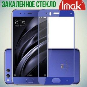 IMAK Закаленное защитное стекло для Xiaomi Mi 6 на весь экран - Синий