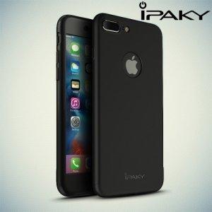 iPaky 360 series чехол для iPhone 8 Plus / 7 Plus с полной защитой корпуса – Черный
