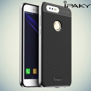 IPAKY противоударный чехол для Huawei Honor 8 - Серый