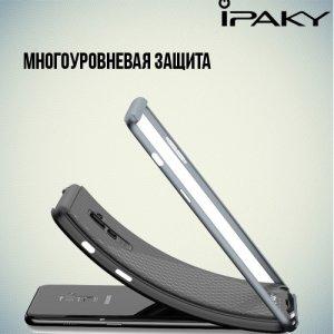 IPAKY противоударный чехол для Samsung Galaxy A5 2018 SM-A530F - Серый