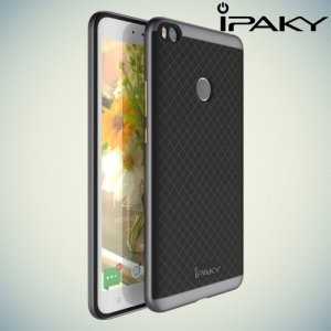 IPAKY противоударный чехол для Xiaomi Mi Max 2 - Серый