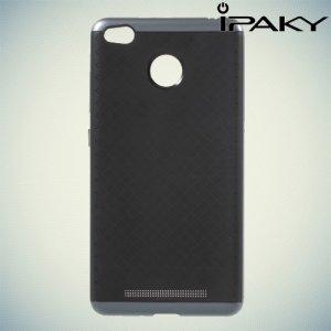 IPAKY противоударный чехол для Xiaomi Redmi 3 pro / 3s - Серый