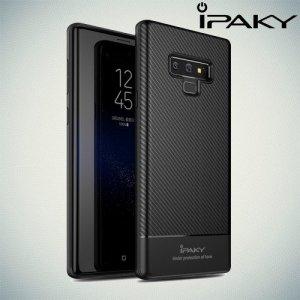 IPAKY Yuyan Series противоударный силиконовый чехол для Samsung Galaxy Note 9 с черной рамкой