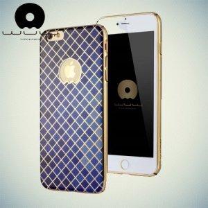 JLW Дизайнерский чехол для iPhone 6S / 6 - Синяя сетка