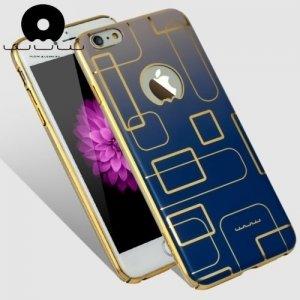 JLW Дизайнерский чехол для iPhone 6S / 6 - Синий лабиринт