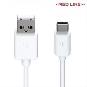 Кабель USB Type-C Белый Red Line