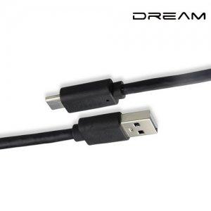 Кабель USB Type-C Черный Red Line