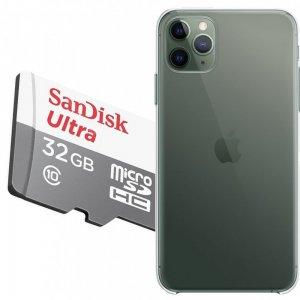 Карта памяти для iPhone 11 Pro Max 64 ГБ MicroSDXC