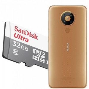 Карта памяти для Nokia 5.3 64 ГБ MicroSDXC