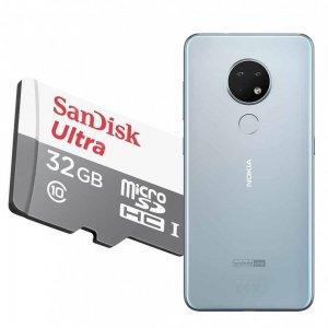 Карта памяти для Nokia 6.2 64 ГБ MicroSDXC
