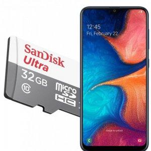 Карта памяти для Samsung Galaxy A30 / A20 64 ГБ MicroSDXC