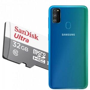 Карта памяти для Samsung Galaxy M30s 64 ГБ MicroSDXC