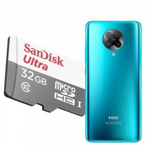 Карта памяти для Xiaomi Poco F2 Pro 64 ГБ MicroSDXC