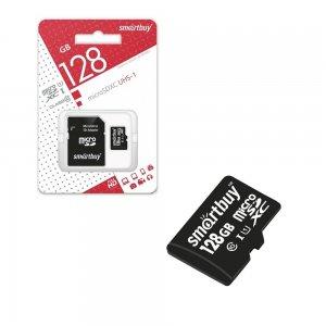 Карта памяти microSDXC SmartBuy 128 Gb Class 10
