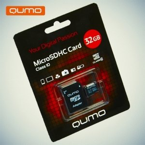 Карта памяти QUMO MicroSDHC 32ГБ Class 10 UHS-I