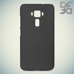 Кейс накладка DF Soft Touch для Asus Zenfone 3 ZE520KL  - Черный