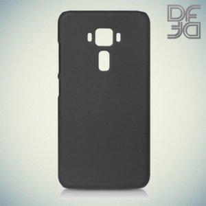 Кейс накладка DF Soft Touch для Asus Zenfone 3 ZE552KL  - Черный