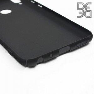 Кейс накладка DF Soft Touch для ASUS ZenFone Max Pro M1 ZB602KL / ZB601KL - Черный