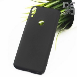 Кейс накладка DF Soft Touch для ASUS ZenFone Max Pro M1 ZB602KL / ZB601KL - Черный