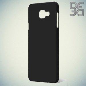 Кейс накладка DF Soft Touch для Samsung Galaxy A5 2016 SM-A510F - Черный