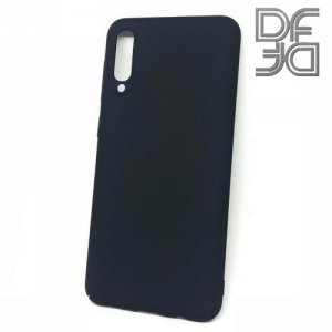 Кейс накладка DF Soft Touch для Samsung Galaxy A50 / A30s - Черный