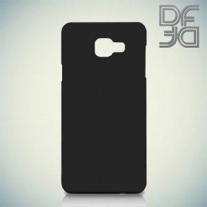 Кейс накладка DF Soft Touch для Samsung Galaxy A7 2016 SM-A710F - Черный