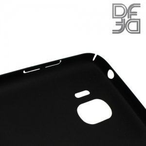 Кейс накладка DF Soft Touch для Samsung Galaxy J2 (2018) - Черный