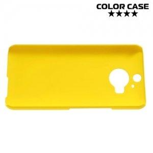 Кейс накладка для HTC One М9 Plus - Желтый