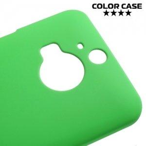 Кейс накладка для HTC One М9 Plus - Зеленый
